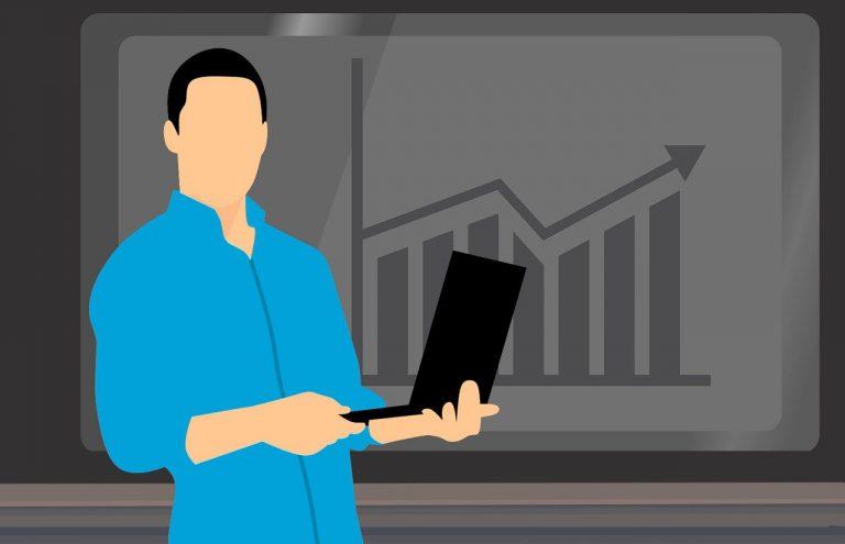 presentation, business, chart